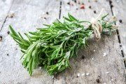 a bunch of fresh rosemary improves memory