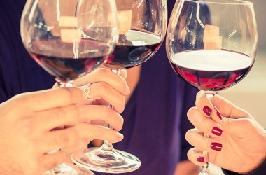 Friends share a glass of red wine to improve memory and more
