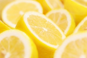 lemons for lemon water detox