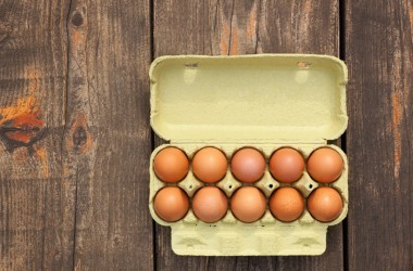 A carton of healthy good for your eggs.