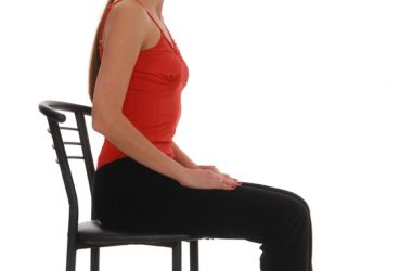 Woman fitting in some easy and effective exercises