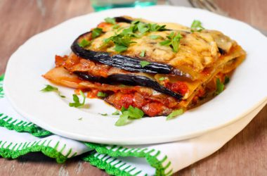Lower carb eggplant lasagna to lose the holiday weight