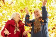 Fall detox left senior couple feeling fantastic