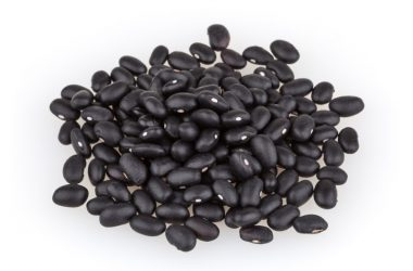 Pile of black beans which can help slash your risk of breast cancer