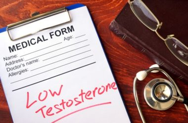 Low testosterone written on medical form sign you need to boost testosterone levels