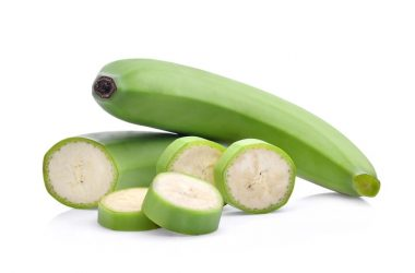 Green bananas which are high in resistant starches