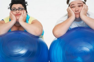 Tired and overweight couple may suffer from slow metabolism