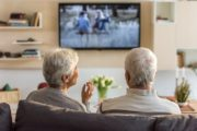 Senior couple watching TV could be raising their colorectal cancer risk