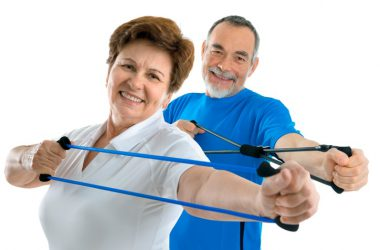 Active seniors using resistance training to avoid type 2 diabetes