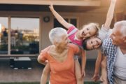 Grandparents playing with grandchildren reducing early death risk