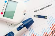 Blood sugar meter to illustrate pancreatic cancer connection