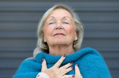 Ex smoker breathing deeply to illustrate Respinox benefits