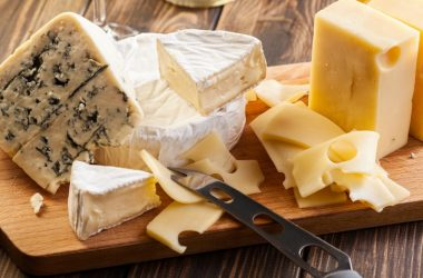 Cheese on a cutting board could balance out salt intake